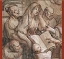 Eén van de vijf geselecteerde prenten uit de tentoonstelling