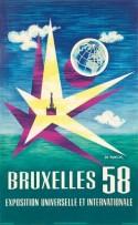 Affiche Expo 58 - © Fonds Lucien De Roeck