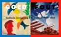 Affiche tentoonstelling GOED/FOUT. Grafische vormgeving in Nederland 1940–1945