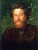 Portret van William Morris door George Frederic Watts