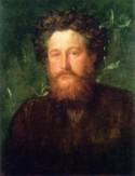 Portret van William Morris door George Frederic Watts