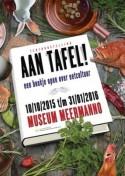 Affiche tentoonstelling 'Aan tafel! Een boekje open over eetcultuur'