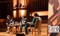 mensen op podium in debat tijdens Groot Onderhoud 2014