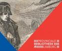 affiche van tentoonstelling met prent van Napoleon