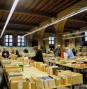 Boekverkoop in de Universiteitshal KU Leuven