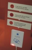 Tekstballon 'Ik wil sporen uit mijn verleden kunnen wissen'