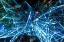 Artistieke interpretatie van datanetwerk