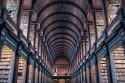 Foto van mooie oude bibliotheek