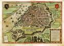 Kaart van Antwerpen uit de zestiende eeuw