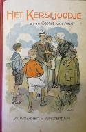 Cover boek 'het kerstjoodje (George van Aalst)