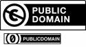 Creative Commons Public Domain Logo's