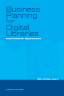 Voorpagina 'Business Planning for Digital Libraries'