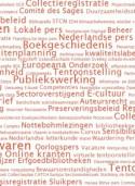 Tagcloud website Vlaamse Erfgoedbibliotheek