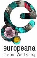 """Logo Europeana """"Erster Weltkrieg"""""""