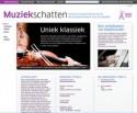 Schermafbeelding van Muziekschatten.nl