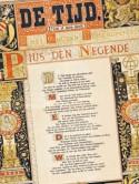Een exemplaar van de Nederlandse krant 'De Tijd'