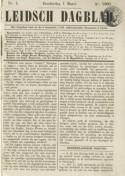 Leidsch Dagblad 1 maart 1860