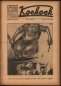 Voorpagina van Koekoek, humoristisch weekblad van Vooruit