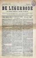 Voorpagina De Legerbode 22 oktober 1914