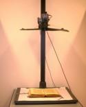 Een boek onder de scanner in de bibliotheek van het Vaticaan