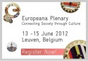 Europeana Plenary. Connecting Society through Culture. 13-15 June 2012.