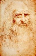 Leonardo da Vinci zelfportret: vergeling