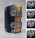 Oude en Nieuwe Testament in één rijk met zilver versierde band (ca. 1790)