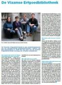 Artikel 'De Vlaamse Erfgoedbibliotheek' in META
