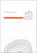 Voorpagina Beleidsplan Vlaamse Erfgoedbibliotheek 2013-2017