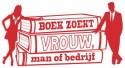 Logo Boek zoekt Vrouw, Man of Bedrijf