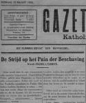 Gazet van Maldegem 1933