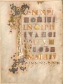 Bibliotheca Carolina - St Gall Gospel Book