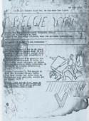 Voorpagina van België Vrij. Orgaan der Vaderlandslievende Vlaamsche Belgen