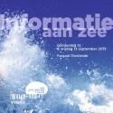 Voorzijde programmafolder Informatie aan Zee 2013