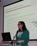Eva Wuyts stelt de werking van de Vlaamse Erfgoedbibliotheek voor