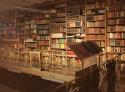 interieur abdijbibliotheek Bornem