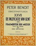 De pacificatie van Gent | fragmenten der muziek (1876)