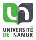 Logo van de Université de Namur