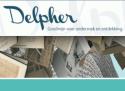 Hoofding van 'Delpher. 'Goudmijn voor onderzoek en ontdekking'