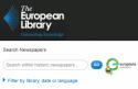 Newspaper browser van The European Library