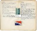 Pagina uit een van de dagboeken van Hugo Claus