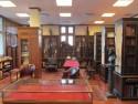 Interieur van de Scheide Library