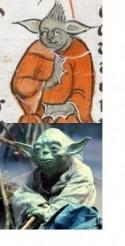 Yoda Star Wars British Library Middeleeuws Manuscript