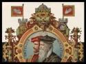 portret Ortelius en Mercator