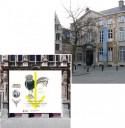 Ingang Museum Plantin-Museum en Museum voor Edelsmeedkunst, Juwelen en Diamant