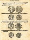 Pagina met afbeeldingen van munten en toelichtingen