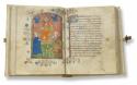 Openliggende verso en recto van het Brugs devotieboek