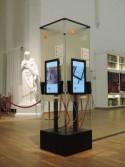 Multimediaconsole met aanraakschermen