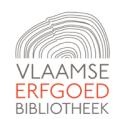 Logo: Vlaamse Erfgoedbibliotheek