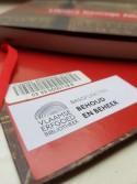 Afbeelding van een barcode en plaatskenmerk